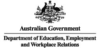 Australian Government - Department of Education, Employment and Workplace Relations